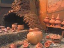 Pequeño modelo de la cerámica Imagen de archivo