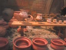 Pequeño modelo de la cerámica Foto de archivo