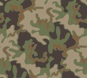 Pequeño modelo del camuflaje del bosque stock de ilustración