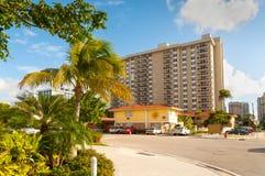 Pequeño motel - la Florida, los E.E.U.U. Foto de archivo
