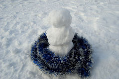 Pequeño muñeco de nieve Fotos de archivo