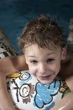 Pequeño nadador Imagen de archivo libre de regalías