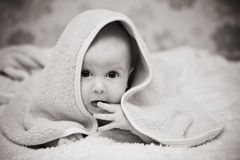 Pequeño niño Fotografía de archivo libre de regalías