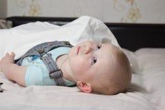 Pequeño niño Foto de archivo