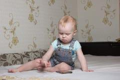 Pequeño niño Foto de archivo libre de regalías