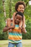 Pequeño niño africano dulce Imagen de archivo libre de regalías