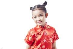 Pequeño niño asiático, Año Nuevo chino Foto de archivo