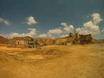 Pequeño oasis en el desierto imágenes de archivo libres de regalías