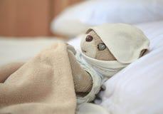 Pequeño oso de peluche precioso Imágenes de archivo libres de regalías