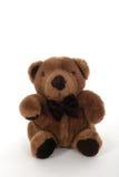 Pequeño oso del peluche de Brown Fotos de archivo