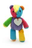 Pequeño oso lindo del peluche Foto de archivo libre de regalías
