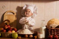 Pequeño panadero Fotografía de archivo libre de regalías