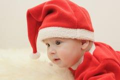 Pequeño Papá Noel Imagen de archivo
