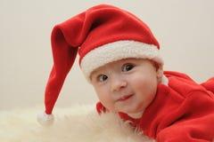 Pequeño Papá Noel Imágenes de archivo libres de regalías