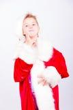 Pequeño Papá Noel Imagen de archivo libre de regalías