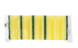 Pequeño paquete de esponjas Foto de archivo libre de regalías