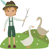 Pequeño pastor libre illustration
