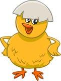 Pequeño personaje de dibujos animados del polluelo