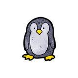 pequeño pingüino de la historieta Imagenes de archivo