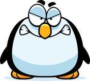 Pequeño pingüino enojado stock de ilustración