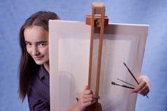 Pequeño pintor Fotografía de archivo libre de regalías