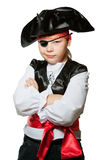 Pequeño pirata Fotografía de archivo