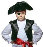 Pequeño pirata Imagen de archivo libre de regalías