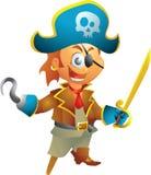 Pequeño pirata Fotos de archivo