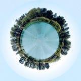 Pequeño planeta Imágenes de archivo libres de regalías