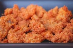 Pequeño pollo frito Imagen de archivo libre de regalías