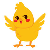 Pequeño polluelo libre illustration
