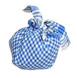 Pequeño Pounch azul Foto de archivo libre de regalías