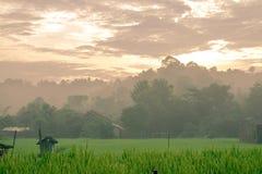 Pequeño pueblo en Indonesia Fotos de archivo libres de regalías