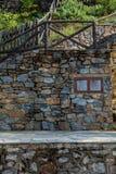 Pequeño pueblo, montaña de Olympus, Grecia Imagen de archivo