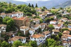Pequeño pueblo, Sirince, Smyrna, Turquía Imagen de archivo libre de regalías