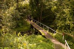 Pequeño puente Imagen de archivo