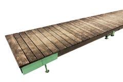 Puente - acera planked Foto de archivo