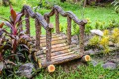 Pequeño puente en el parque fotografía de archivo