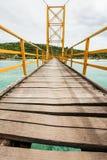 Pequeño puente en Indonesia Imagen de archivo libre de regalías