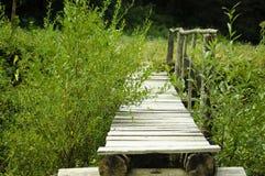 Pequeño puente hecho a mano Imagen de archivo libre de regalías