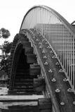 Pequeño puente viejo Fotos de archivo