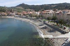 Pequeño puerto en el sur de Francia Foto de archivo libre de regalías