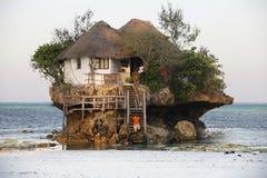 Pequeño restaurante la roca Imagen de archivo libre de regalías