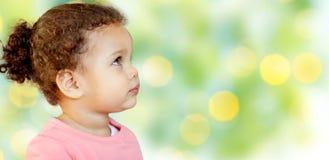 Pequeño retrato hermoso del bebé fotografía de archivo