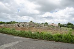 Pequeño Rocky Hill For Farming imagen de archivo libre de regalías
