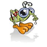 Pequeño saltamontes con rinitis Fotografía de archivo