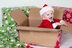 Pequeño Santa foto de archivo libre de regalías