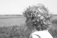 Pequeño soñador Fotografía de archivo libre de regalías