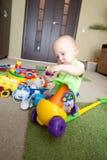 Pequeño soñador del bebé Imagen de archivo libre de regalías