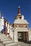 Pequeño stupa viejo en Leh, Ladakh Fotografía de archivo libre de regalías